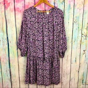 H&M Floral Babydoll Dress